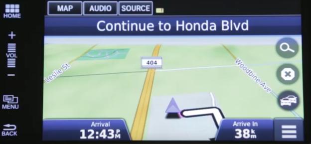 Honda Satellite Linked Navigation System
