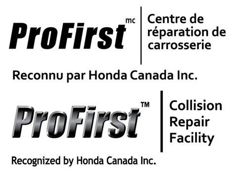 Carrosserie Spinelli Pierrefonds-Roxboro reçoit l'accréditation ProFirst de Honda Canada Inc