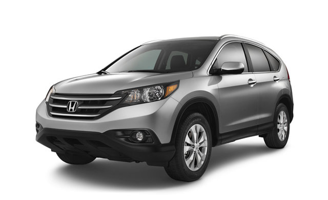 The Honda CR-V, one of the most popular SUVs, is given a small aesthetic treatment in 2012