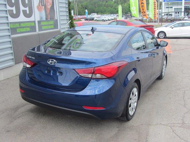 Hyundai Elantra GL 2016 COMME NEUVE