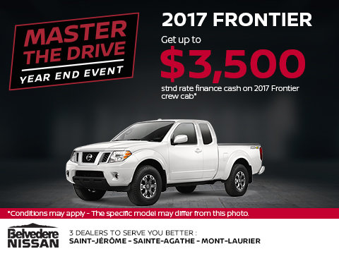 Save on the 2017 Frontier!