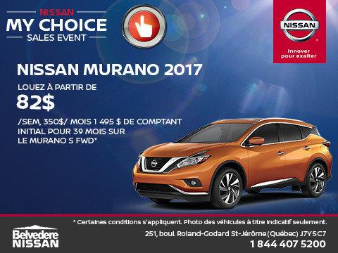 Murano 2017 en rabais!