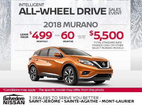 The 2018 Nissan Murano