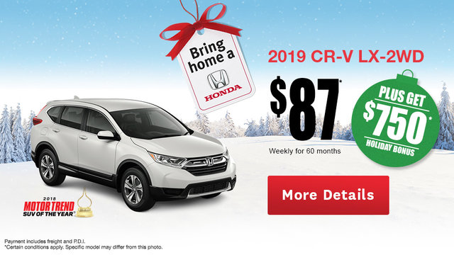 Lease the Honda CR-V!