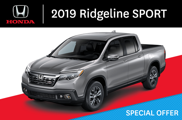 Honda Ridgeline Ex L 2019 Honda New Richmond In New Richmond Quebec