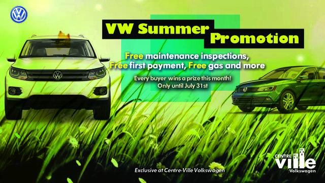 VW summer promotion