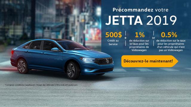 Précommandez votre Jetta 2019 (mobile)