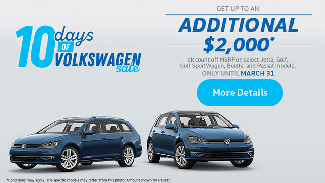 10 Days of Volkswagen Sale (mobile)
