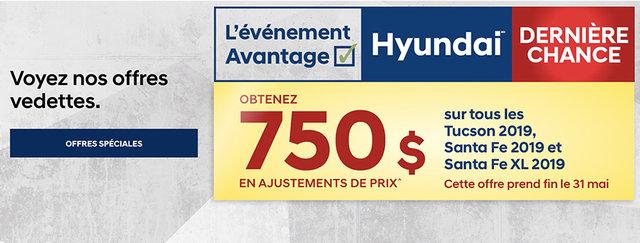 Événement avantage hyundai