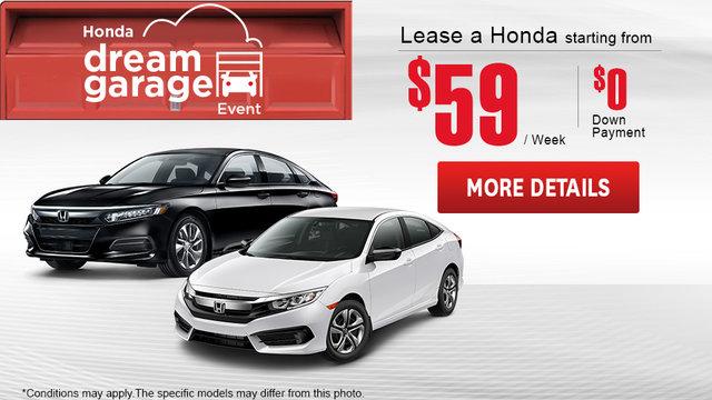 Honda Dream Garage Event (mobile)