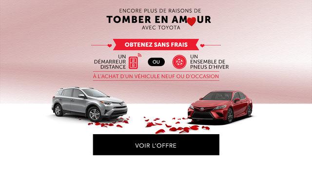 Tomber en Amour avec Toyota (mobile)