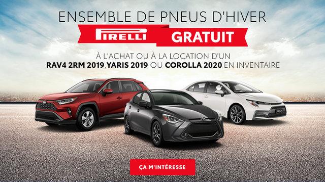 Ensemble de pneus d'hiver Pirelli Gratuit (mobile)