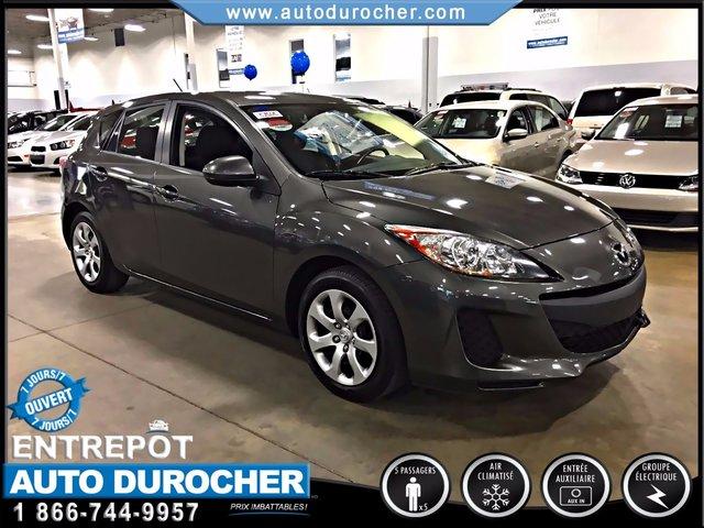 Mazda Mazda3 TOUT ÉQUIPÉ FINANCEMENT DISPONIBLE 2012