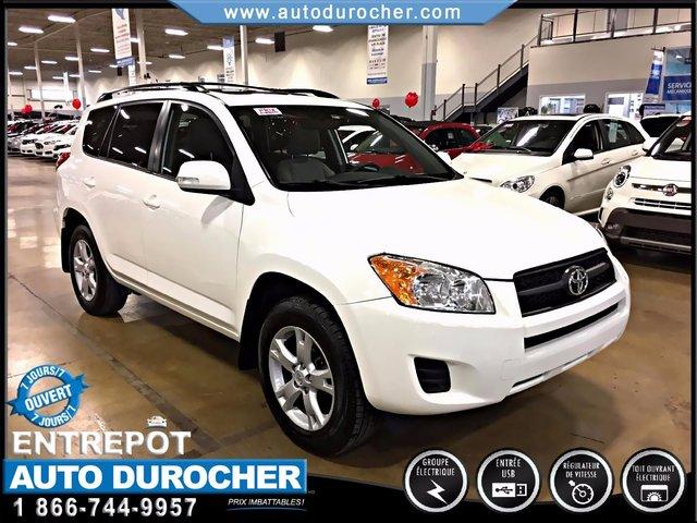 Toyota RAV4 BASE AUTOMATIQUE 4X4 TOIT OUVRANT TOUT ÉQUIPÉ 2012
