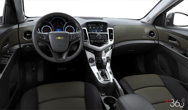 2016 Chevrolet Cruze Limited 1LT | Photo 3 | Jet Black/Brownstone Premium Cloth