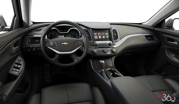 2016 Chevrolet Impala LTZ | Photo 3 | Jet Black Perforated Leather