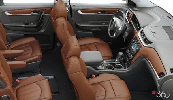 2016 Chevrolet Traverse LTZ | Photo 1 | Ebony/Saddle Perforated Leather