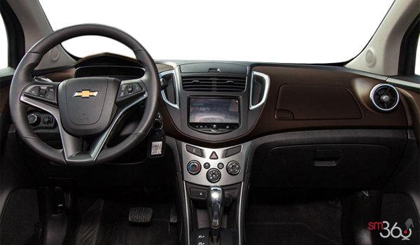 2016 Chevrolet Trax LTZ   Photo 3   Jet Black/Brownstone Leatherette