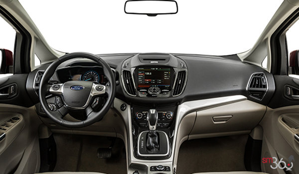 2016 Ford C-MAX SEL HYBRID | Photo 3 | Medium Light Stone Leather