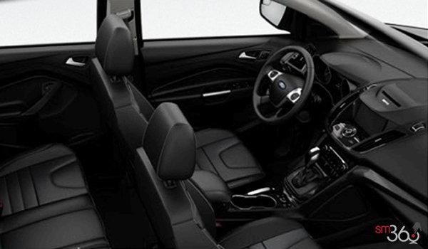 2016 Ford Escape TITANIUM | Photo 1 | Charcoal Black Partial Leather