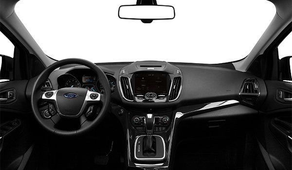2016 Ford Escape TITANIUM | Photo 3 | Charcoal Black Partial Leather