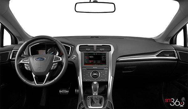 2016 Ford Fusion Hybrid TITANIUM | Photo 3 | Charcoal Black Leather