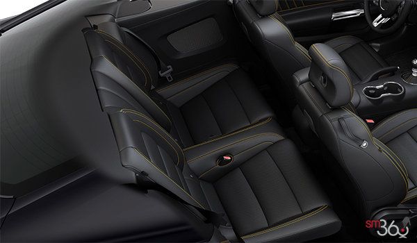 2016 Ford Mustang EcoBoost Premium | Photo 2 | Yellow Jacket/Ebony Premium Leather