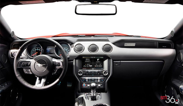 2016 Ford Mustang EcoBoost Premium | Photo 3 | Red Line/Ebony Recaro Leather