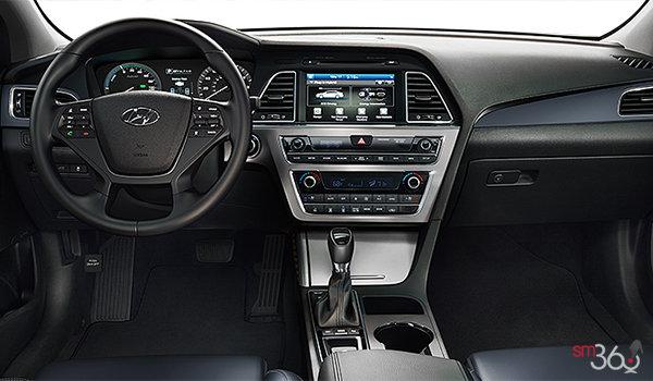 2016 Hyundai Sonata Plug-in Hybrid ULTIMATE   Photo 3   Blue Leather