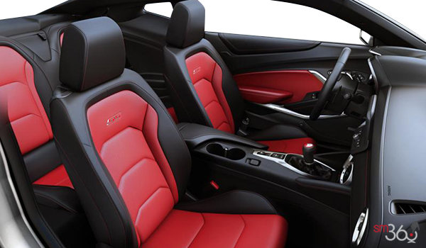 2017 Chevrolet Camaro coupe 2SS   Photo 1   Adrenaline Red Leather