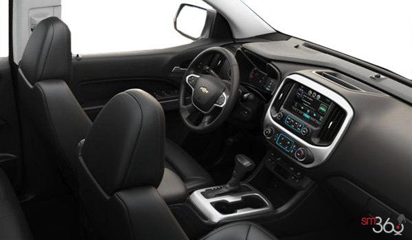 2017 Chevrolet Colorado LT | Photo 1 | Jet Black Leather
