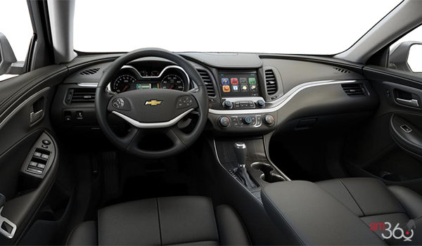 2017 Chevrolet Impala 1LT | Photo 3 | Jet Black Leather