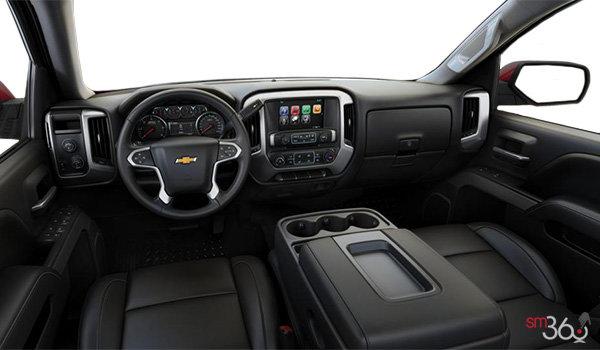 2017 Chevrolet Silverado 1500 LT Z71 | Photo 3 | Jet Black Leather