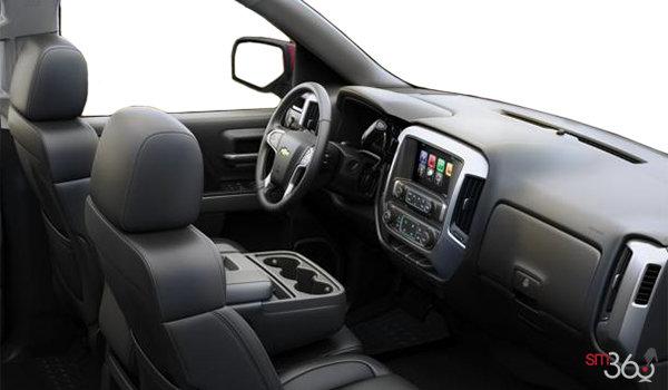 2017 Chevrolet Silverado 1500 LT | Photo 1 | Jet Black Leather