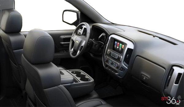 2017 Chevrolet Silverado 1500 LTZ Z71 | Photo 1 | Jet Black Leather