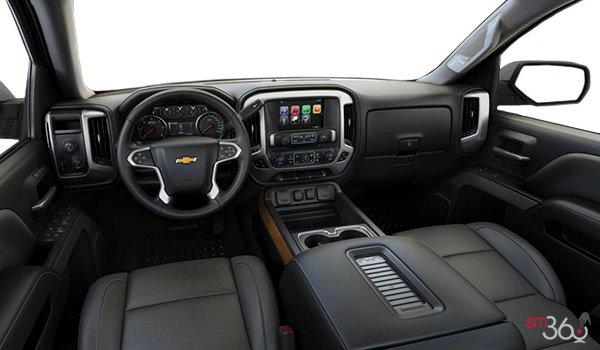 2017 Chevrolet Silverado 1500 LTZ Z71 | Photo 3 | Dark Ash/Jet Black Perforated Leather