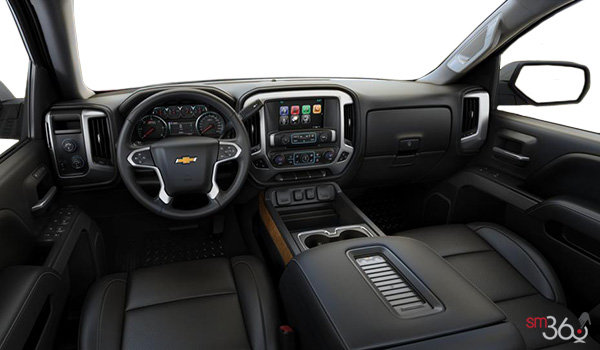 2017 Chevrolet Silverado 1500 LTZ Z71 | Photo 3 | Jet Black Perforated Leather