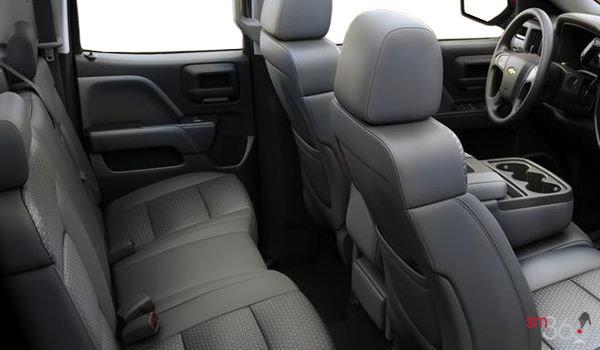 2017 Chevrolet Silverado 1500 WT | Photo 2 | Dark Ash/Jet Black Cloth