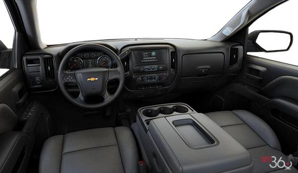 2017 Chevrolet Silverado 1500 WT | Photo 3 | Dark Ash/Jet Black Vinyl