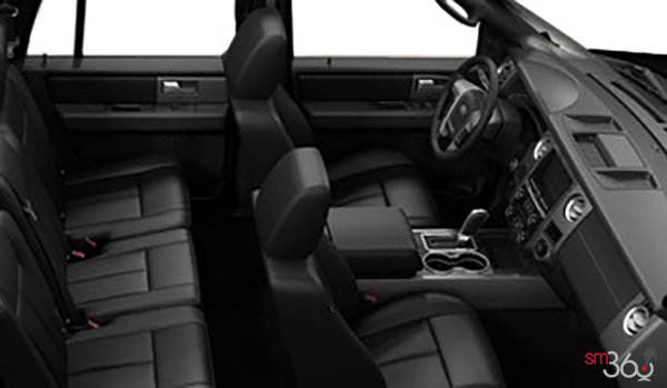 2017 Ford Expedition LIMITED MAX   Photo 1   Ebony Leather with perforated inserts