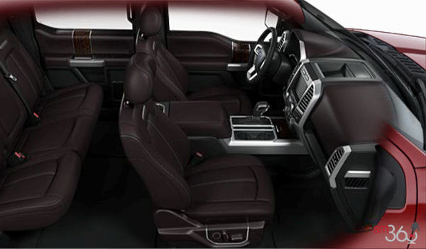 2017 Ford F-150 PLATINUM | Photo 1 | Brunello Unique Leather