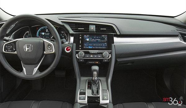 2017 Honda Civic Sedan EX-T | Photo 3 | Black Fabric