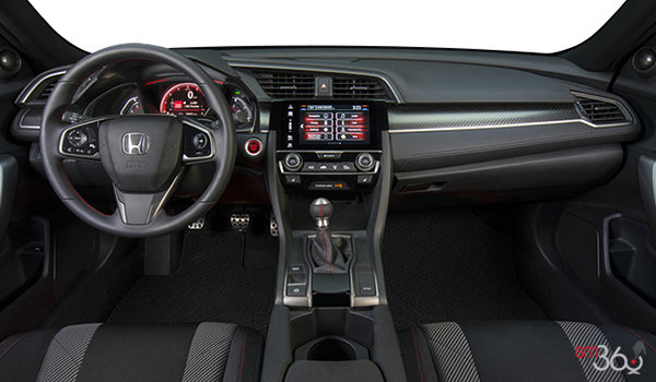 2017 Honda Civic Sedan SI | Photo 3 | Black Fabric