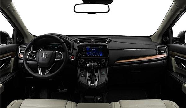 2017 Honda CR-V TOURING | Photo 3 | Ivory Perforated Leather
