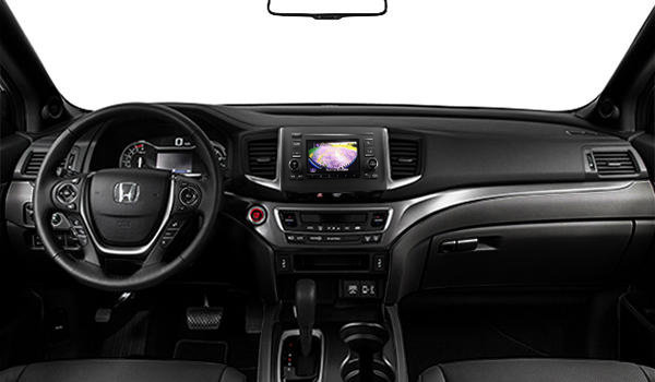 2017 Honda Ridgeline EX-L   Photo 3   Black Leather