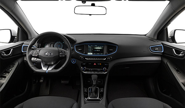 2017 Hyundai IONIQ BLUE | Photo 3 | Black Cloth/Blue