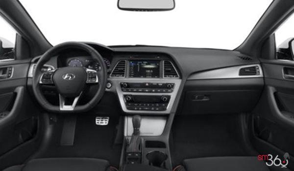 2017 Hyundai Sonata 2.0T SPORT ULTIMATE   Photo 3   Black Leather with Orange Piping