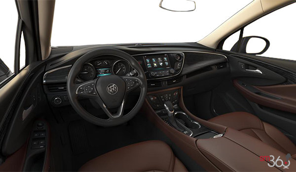 2018 Buick Envision Essence | Photo 3 | Chestnut Ebony/Accent Perforated Leather (AR9-HHG)