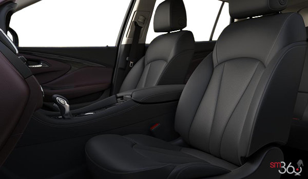 2018 Buick Envision Essence | Photo 1 | Ebony/Dark Plum Accent Perforated Leather (AR9-HHF)
