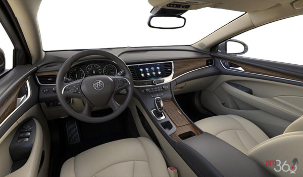 2018 Buick LaCrosse PREMIUM | Photo 3 | Light Neutral w/Dark Brown Accents w/Perforated Leather-Appointed